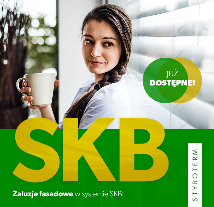 Żaluzje fasadowe w systemie SKB!